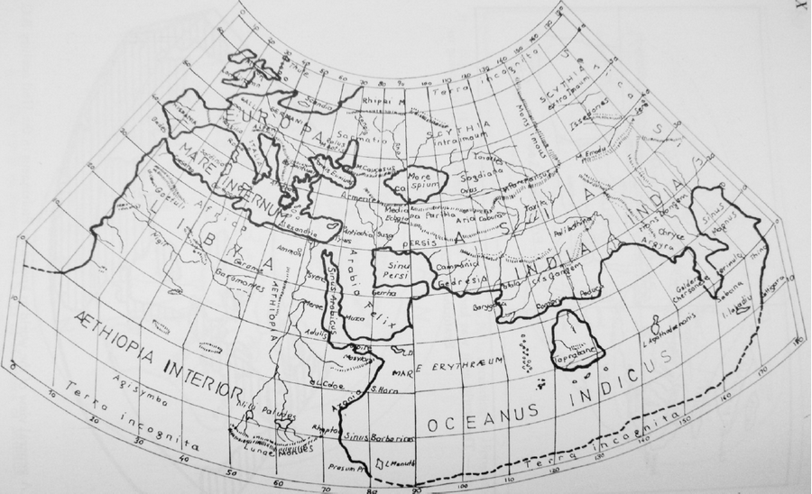 Batlamyus'un Dünya Haritası
