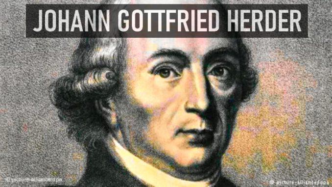 Johann Gottfried Herder Kimdir?