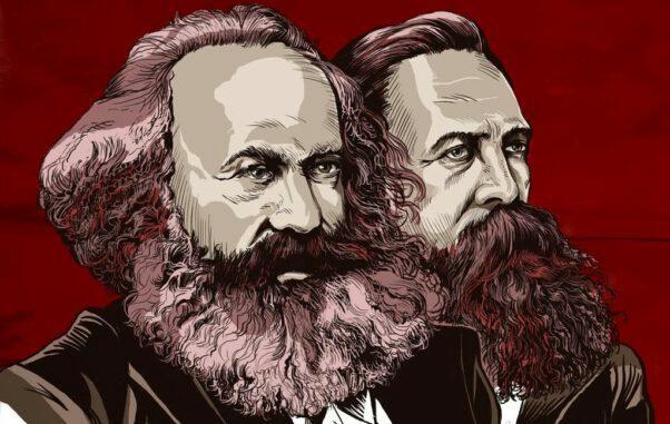 Tarihsel materyalizm Marx ve Engels tarafından kurulan bir görüş olup ana hatlarıyla tarihin, sosyal ve ekonomik gelişimin diyalektik yasaya göre gerçekleştiğini iddia eden felsefi akımdır