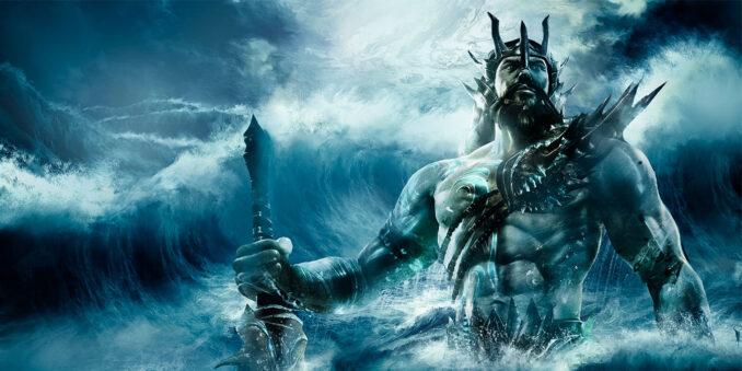 Poseidon, Antik Yunan kültüründe, deniz tanrısıdır.