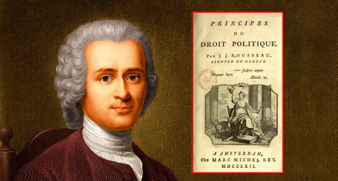 Rousseau, siyaset felsefesinin en etkin filozoflarından birisidir.