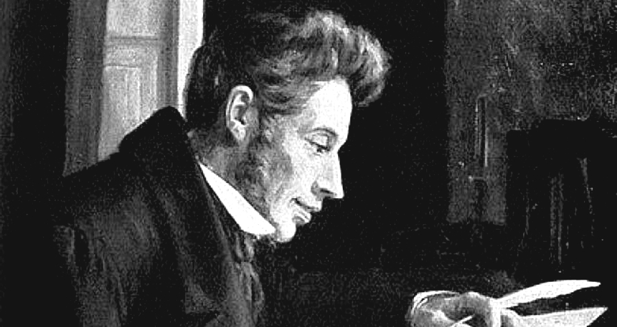 Soren Kierkegaard, Danimarka'nın yetiştirdiği en önemli filozoflardan birisidir.