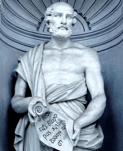 Theophrastos, Peripatetik Okul'un yöneticiliğini yapmıştır.