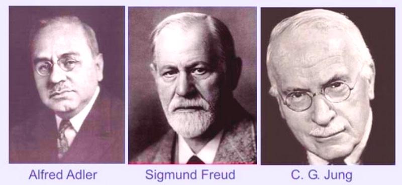 Adler, Freud ve Jung