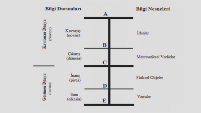 Bölünmüş Çizgi Analojisi