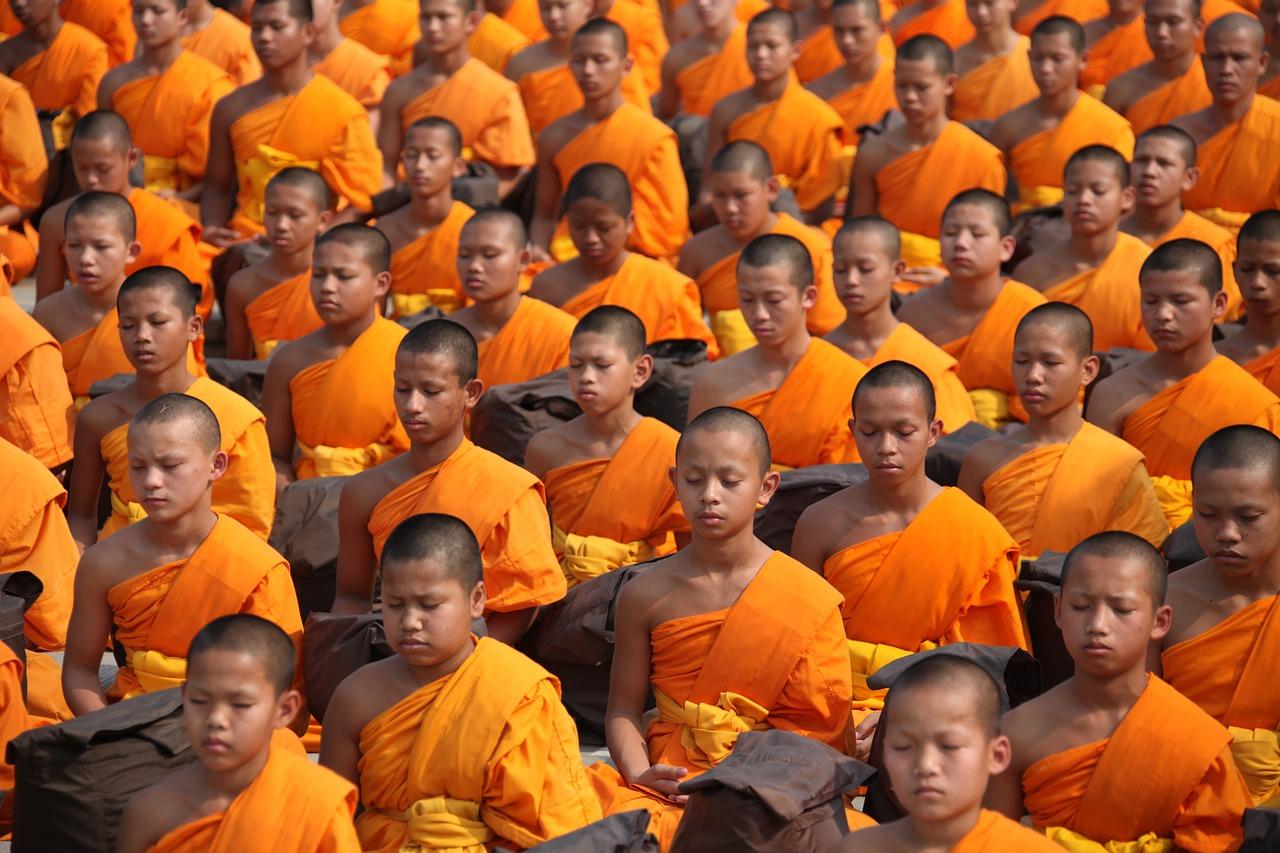 Budizm, budistler
