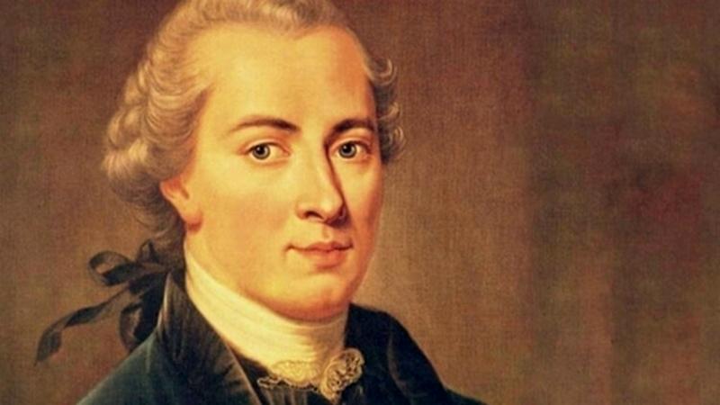 Immanuel Kant, ödev ahlakı ile bilinmektedir.