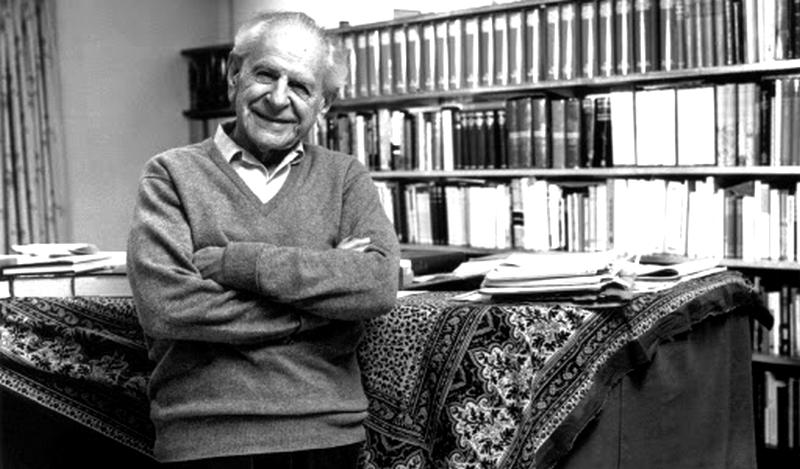Karl Popperyeni pozitivizme yakın bir düşünürdür.