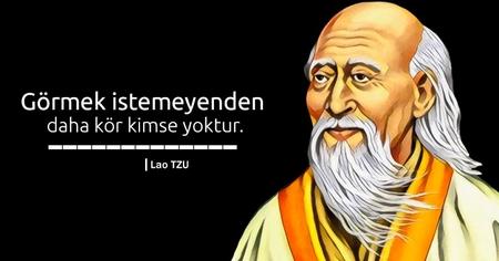 Lao Tse, Taoizm'in kurucusudur.
