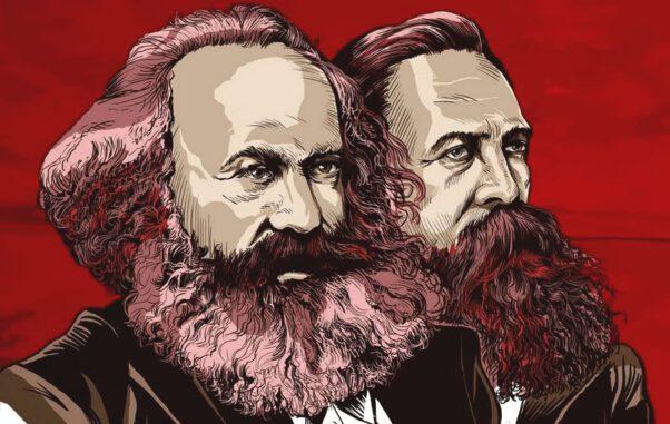 Diyalektik materyalizm, Marx ve Engels'in fikirleri üzerine biçimlenmiştir.