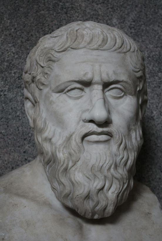 Platon'un Vatikan Müzesi'ndeki büstü.