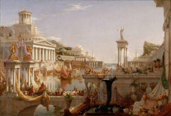 """Platon, """"Devlet"""" ütopyasında filozofların yönetmesi gerektiğini düşünmektedir."""