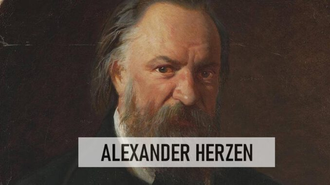 Alexander Herzen Kimdir?