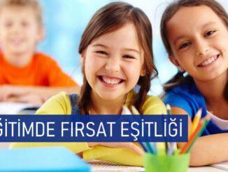 Eğitimde Fırsat Eşitliği