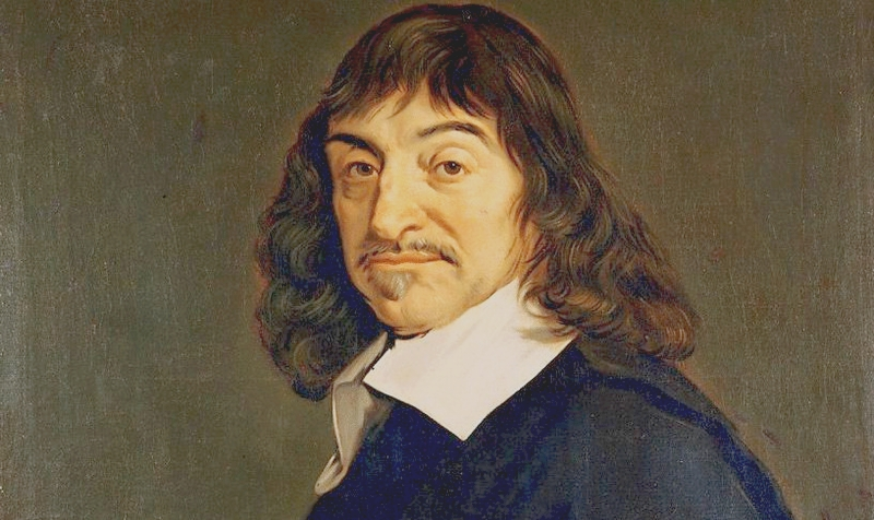 """Descartes'ın """"Düşünüyorum, o hâlde varım."""" söylemi, Kartezyen Felsefeyi en iyi şekilde anlatan mottodur."""