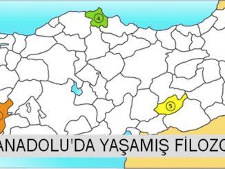 Anadolu'da Yaşamış Filozoflar, Türkiye'de Yaşamış Filozoflar