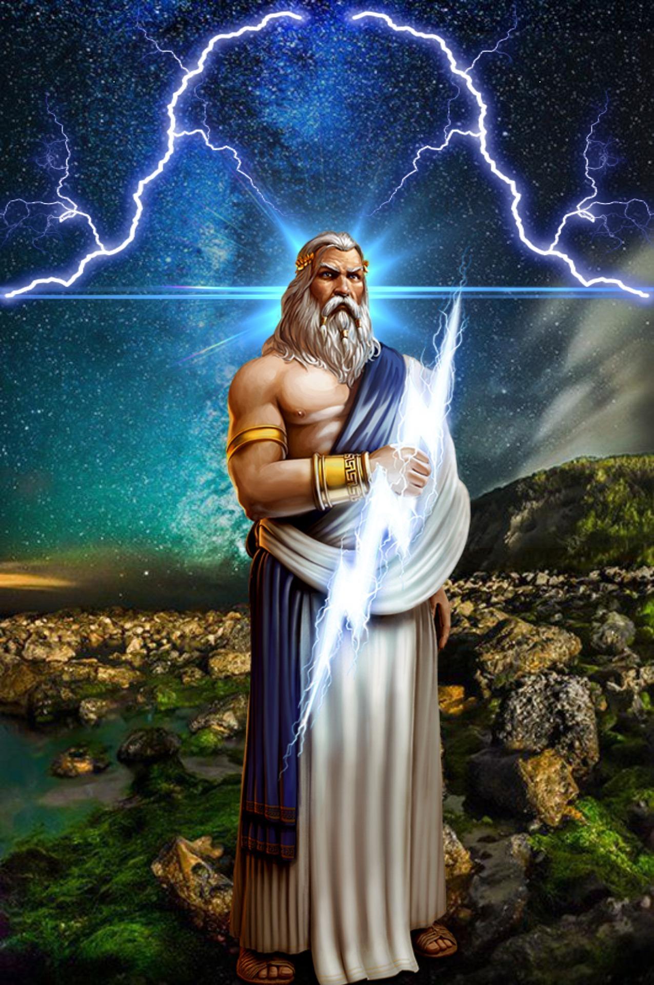 zeus, antik yunan tanrıları, yunan mitolojisi